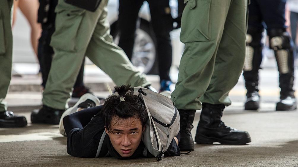 Hong Kong: arrestos en manifestaciones a Ley de Seguridad que impuso China