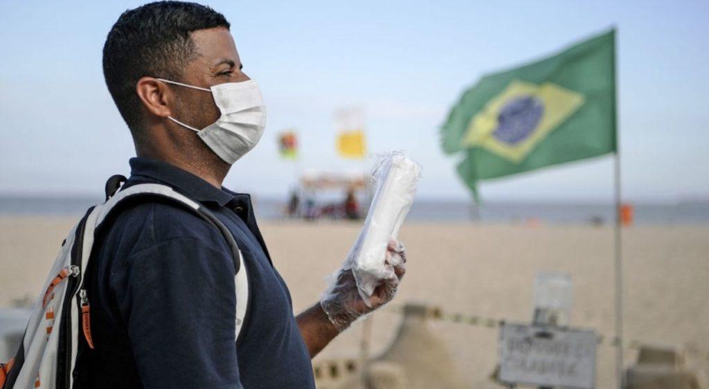 Brasil tendría al menos 8 millones de personas infectadas con COVID-19