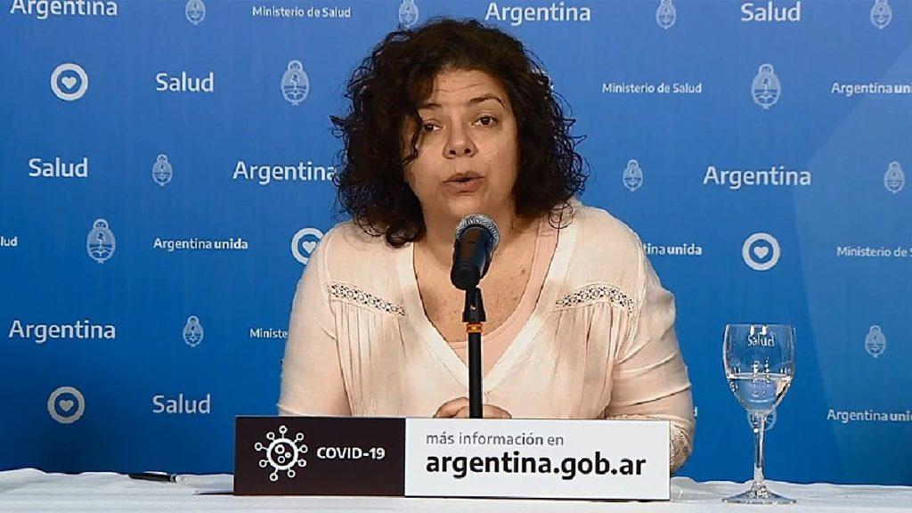 Coronavirus en Argentina: el reporte oficial de salud