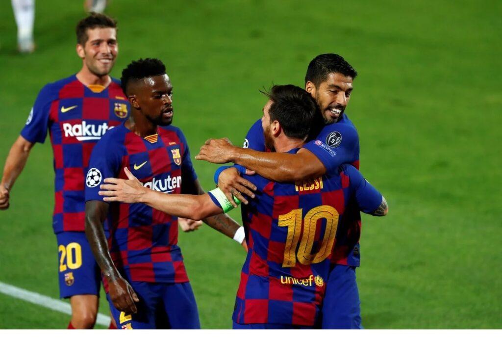 Barcelona avanzó con un Messi inspirado