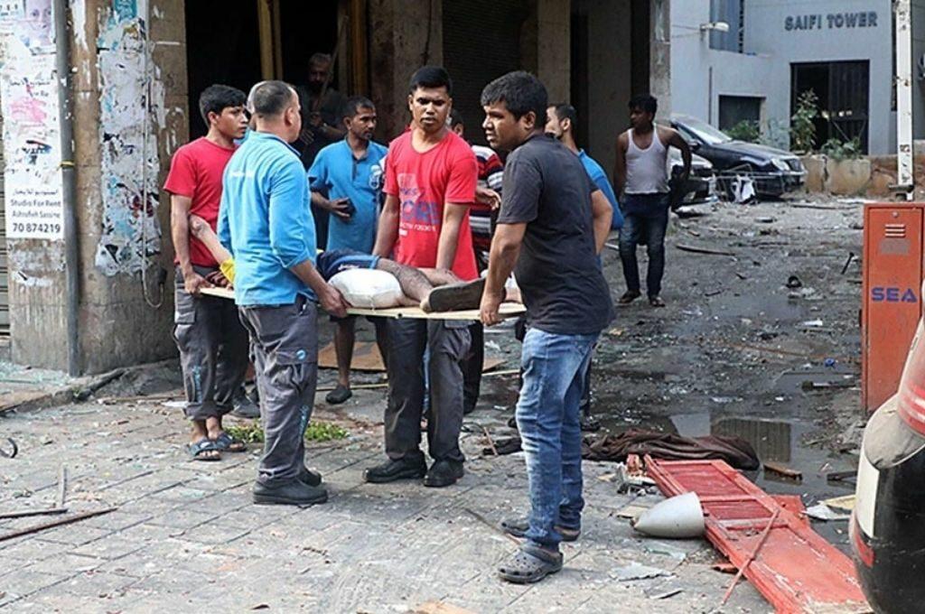 Aumenta a 154 el número de muertos por la explosión en Beirut