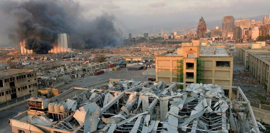 """Explosión en Beirut: para el gobernador, es """"un desastre parecido a Hiroshima"""""""