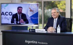 Fernández presenta el programa Acompañar junto a Gómez Alcorta