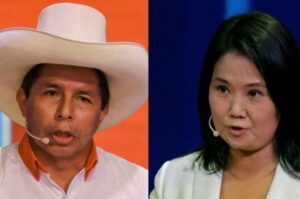 Elecciones en Perú: Pedro Castillo supera a Keiko Fujimori