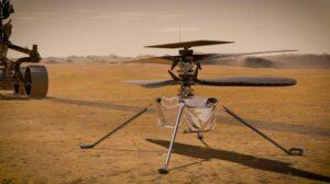 Mira (y escucha) cómo Ingenuity, el helicóptero de Perseverance, vuela sobre Marte