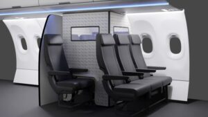 Airbus idea una burbuja de aislamiento para pasajeros con síntomas de COVID-19