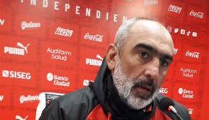 """Delfino: """"La diferencia fue la efectividad de Independiente"""""""