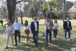Bordet presentó a sus candidatos para las elecciones legislativas