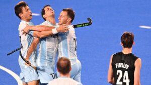 Tokio: Los Leones golearon a Nueva Zelanda y están en cuartos de final