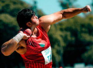 Atletismo: Nazareno Sasia se quedó con el triunfo en el Nacional U23
