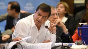 Casaretto afirmó que se encuentran analizando el Presupuesto 2022